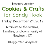 Cookies and Crafts for Sandy Hook: Fabric Flower Tutorial