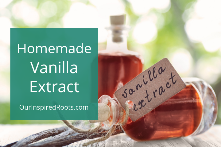 Homemade Vanilla Extract Recipe (EASY!)
