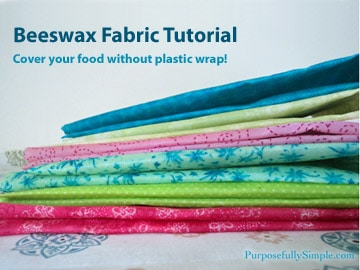 Beeswax Food Wrap: Beeswax Fabric Tutorial