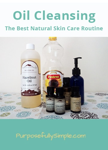 The Oil Cleansing Method - Purposefully Simple