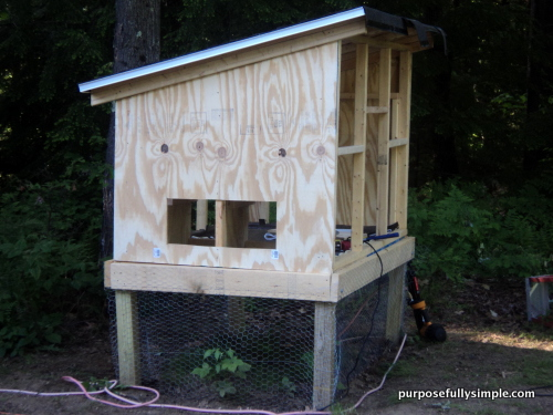 How To Build A Chicken Coop For Beginners Purposefully