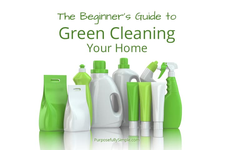 Beginner's Guide to Green Cleaning - Purposefully Simple