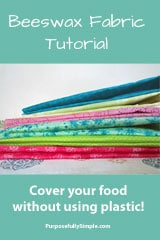 Beeswax Fabric Tutorial