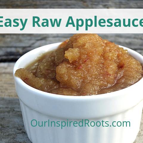 Raw Applesauce