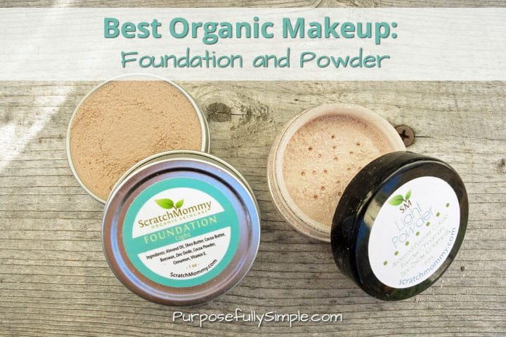 Best Natural Makeup: Foundation and Powder