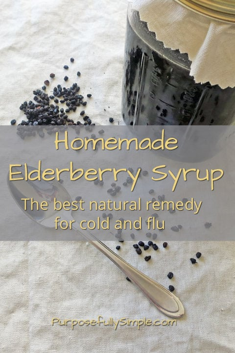 This elderberry syrup recipe is simple to make and will help protect your family from illness all winter. Find out how to make it at home for pennies.