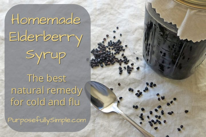 The Best Elderberry Syrup Recipe
