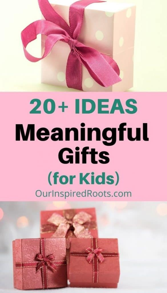 wrapped meaningful gifts