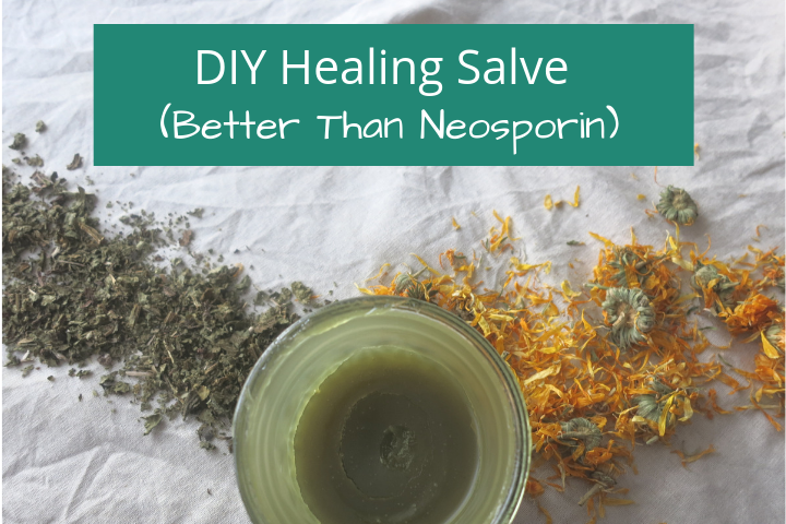 DIY Natural Neosporin: A Safe and Natural Healing Salve