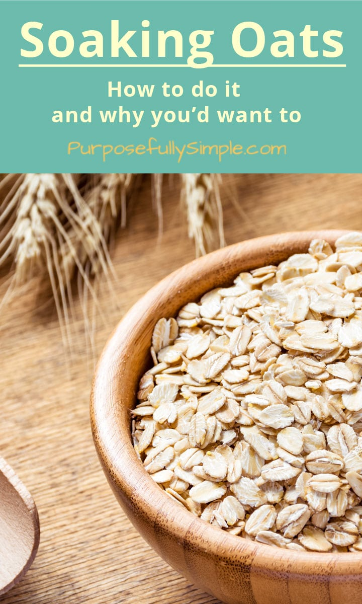 Soaking oats is a great way to get more nutrition out of your oatmeal and do less harm to your digestion. Find out how easy it really is.