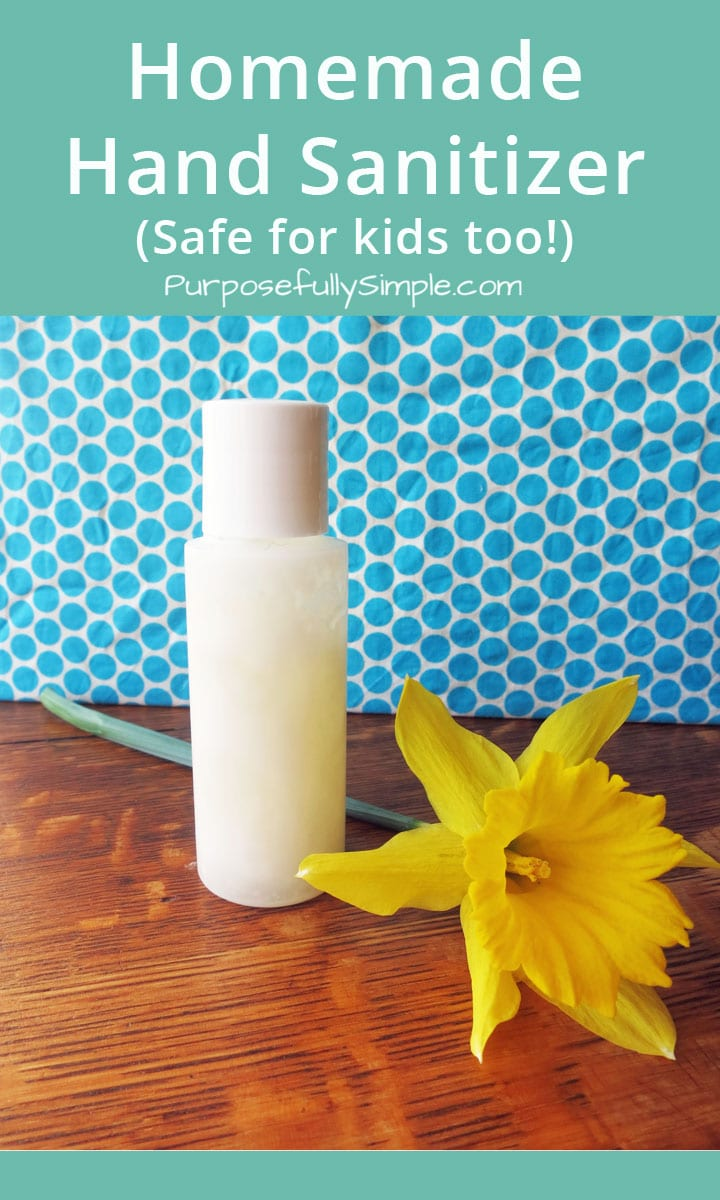 Homemade hand sanitizer is an easy way to avoid toxic chemicals. Find out how easy it is to make for yourself. This formula is safe for everyone!