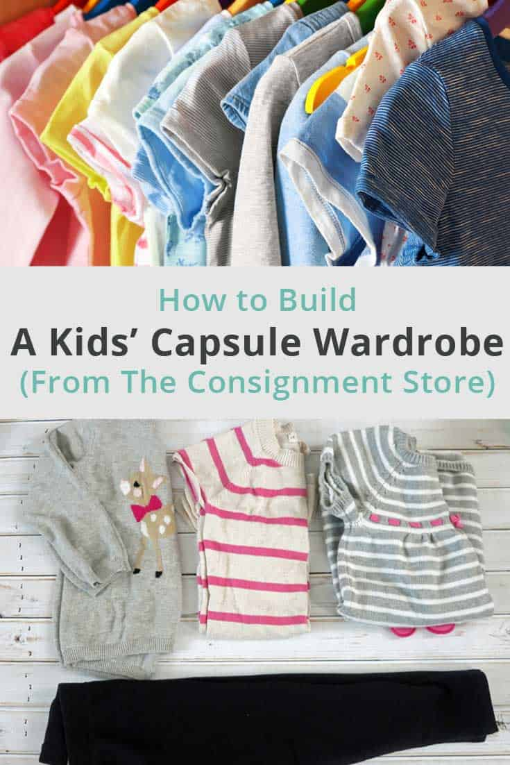 Ever thought about creating a capsule wardrobe for kids? There are many advantages to it. Find out how and why to build one to make your life simpler. #capsulewardrobe