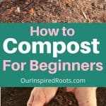 compost in wheel barrow