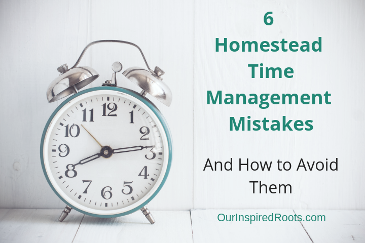 6 Biggest Homestead Time Management Mistakes (and How to Avoid Them)