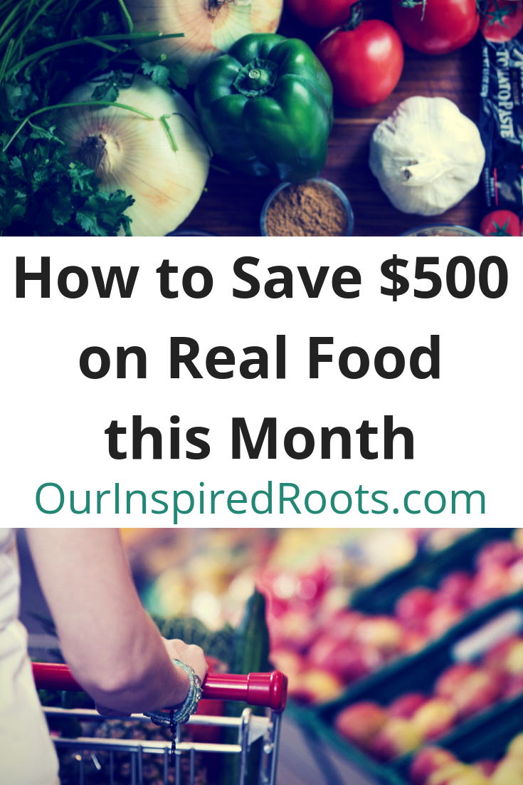 Find out how I save money on groceries, while buying real food and eating yummy, satisfying and nutritious meals every day. Healing diet approved! #frugalliving #healingdiet #savemoney