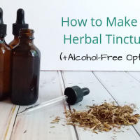 How to Make a Glycerite (Alcohol-Free Tincture)