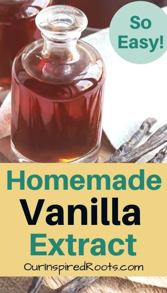 vanilla extract in jar
