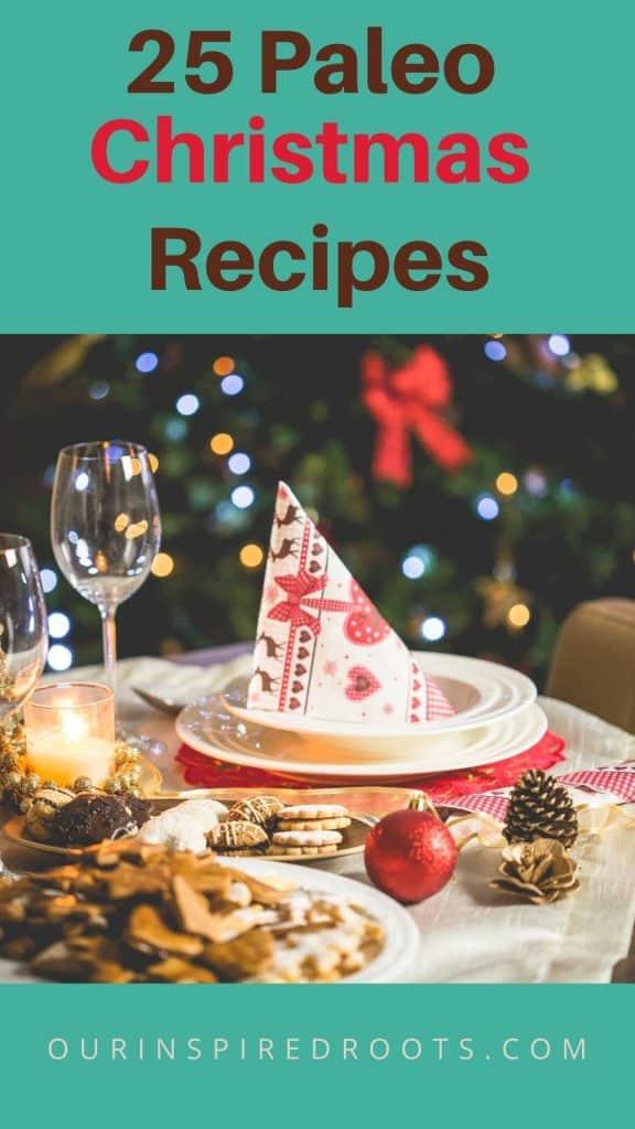 paleo Christmas recipes, soup, cookies, cranberry sauce