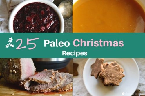 Christmas recipes plated and beautiful