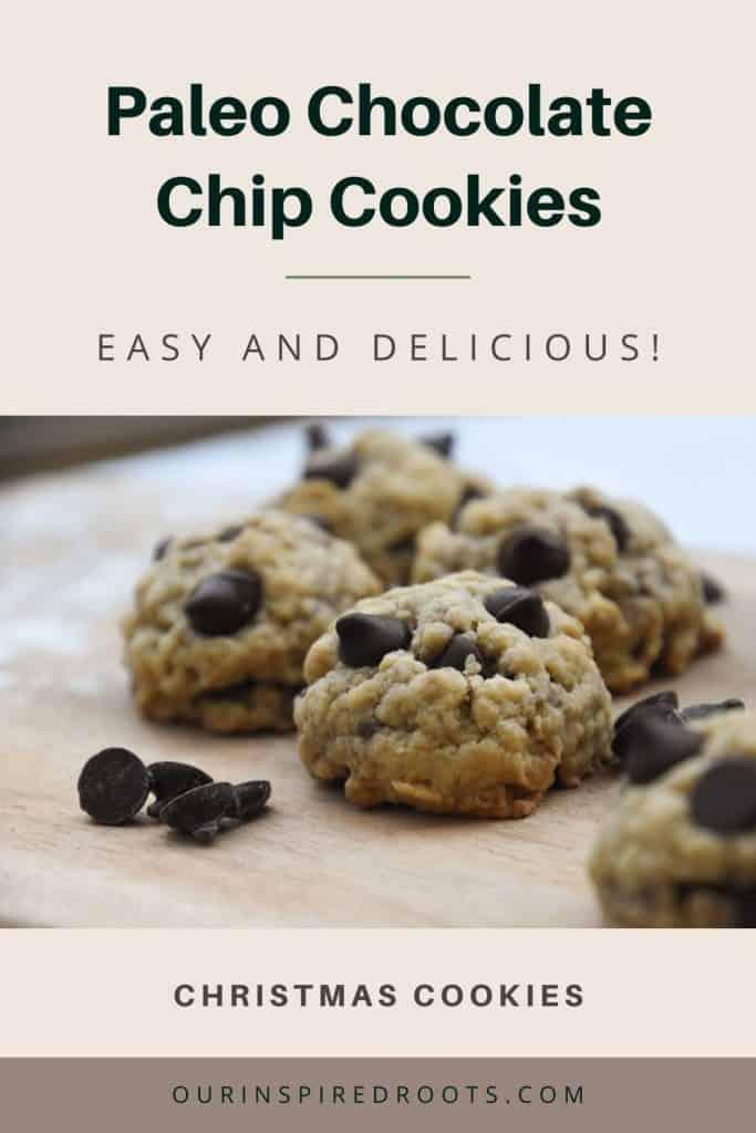 paleo chocolate chip cookies